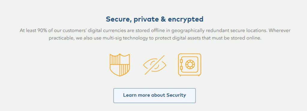 Coinjar security features