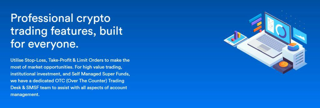 Coinspot trading features