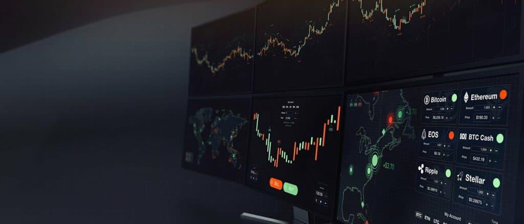 Crypto exchange charts