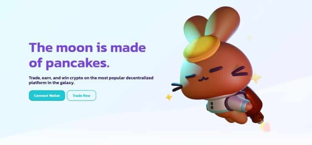 PancakeSwap homepage