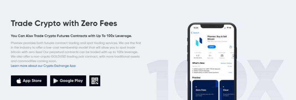 Pheemx leverage trading feature