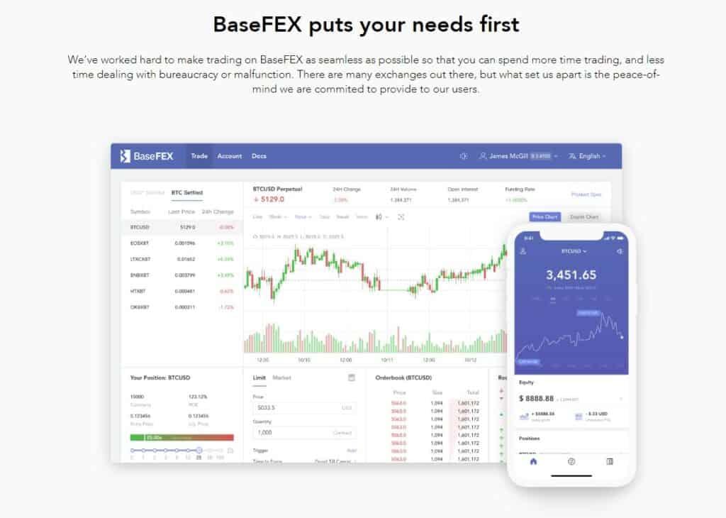 BaseFEX platforms