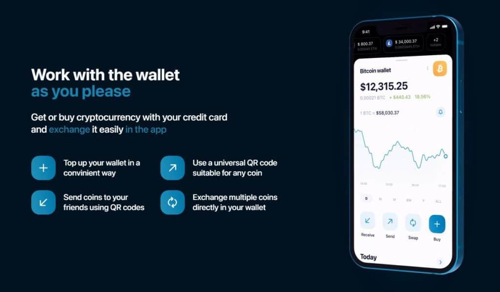 HitBTC mobile wallet