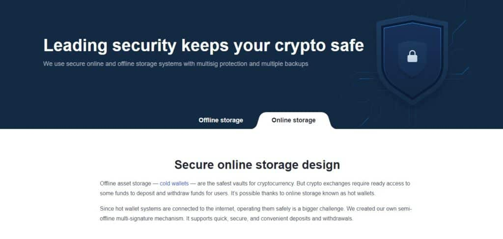 OKEX security features